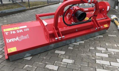 Nový mulčovač BREVIGLIERI TURBO T 76 SR záběr 220 cm