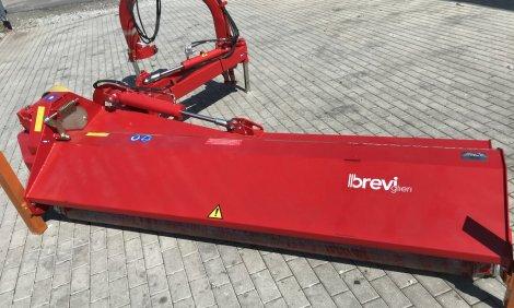 Nový mulčovač BREVIGLIERI (AGRIMASTER) EXTRA MASTER 250 XL