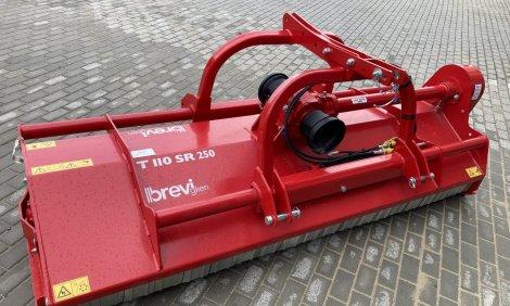 Nový mulčovač BREVIGLIERI (AGRIMASTER) TURBO T 110 SR 250
